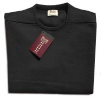 William Lockie - Oxton Cashmere Crew Neck - Charcoal