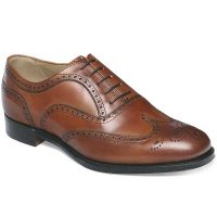 Cheaney - Arthur III Brogues - Dark Leaf Calf Leather