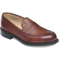 Cheaney - Howard R Loafer - Mahogany Grain Leather