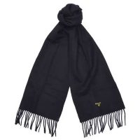 Barbour - Plain Lambswool Scarf - Black