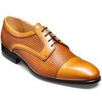 Barker Flex Shoes - Deene Derby Style - Cedar Calf