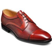 Barker Flex Shoes - Deene Derby Style - Rosewood Calf
