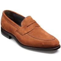 Barker Shoes - Davenport - Saddle Loafer - Snuff Suede