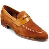 Barker Shoes - Dodmoor Penny Loafer - Caramel Suede