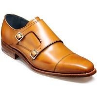 Barker Shoes - Hillman Monk Strap - Cedar Calf