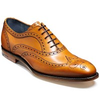 Barker Shoes - Jensen Oxford Brogue - Cedar Calf