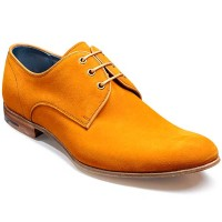 Barker Shoes - Wolseley Derby Style - Amber Suede