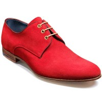 Barker Shoes - Wolseley Derby Style - Rosso Suede