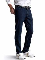 Meyer Jeans - Super Stretch Denim - Arizona - Navy Blue - Slim Fit
