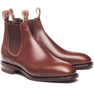 RM Williams - Comfort Craftsman Boots - Dark Tan