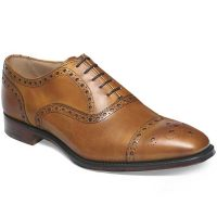 Cheaney - Maidstone Brogue Shoes - Burnished Chestnut Calf