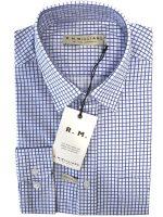 RM Williams - Collins Shirt - Blue & White Check