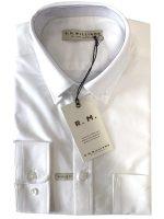 RM Williams - Collins Shirt - White Button Down