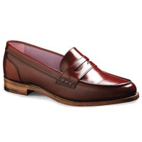 Barker Ladies Shoes - Harriet Loafer - Burgundy Polish