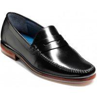Barker Shoes - William Moccasin - Black Calf