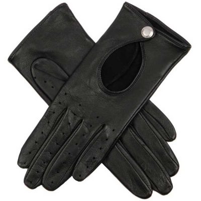 Dents Ladies - Thruxton Leather Driving Gloves - Black