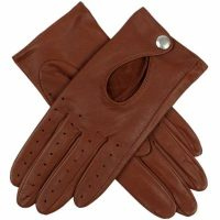 Dents Ladies - Thruxton Leather Driving Gloves - Cognac