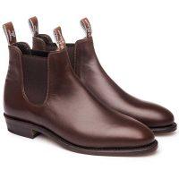 RM Williams - Ladies Adelaide Boots - Dark Tan