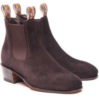 RM Williams - Ladies Kimberley Boots - Brown Suede