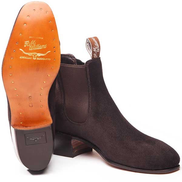 rm williams kimberley boots brown suede