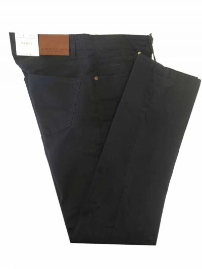 RM Williams - Ramco Drill Jeans Navy - Regular Fit