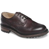Cheaney - Avon C Wingcap Country Brogue - Burgundy Calf Leather