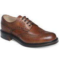 Cheaney - Avon Wingcap Brogue - Dark Leaf Calf - Leather Sole