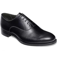 Cheaney - Welland Leather Sole Oxford Shoes - Black Calf