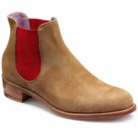 Barker Ladies - Violet - Chelsea Boots - Snuff Suede