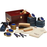 Barker Shoes Luxury Wooden Valet Box