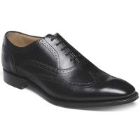Cheaney - Edinburgh Brogues - Black Calf Leather