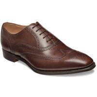Cheaney - Edinburgh Brogues - Burnished Mocha Calf Leather