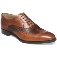Cheaney - Edinburgh Brogues - Chestnut & Mahogany Calf Leather