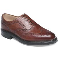 Cheaney - Hythe Oxford Brogue - Mahogany Grain Leather
