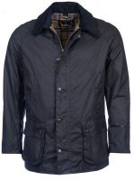 Barbour-Ashby-Wax-Jacket-Navy
