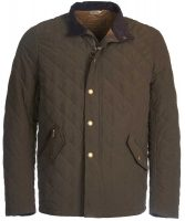 Barbour - Shoveler Quilted Jacket - Dark Olive