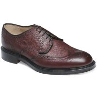 Cheaney - Bexhill Derby Brogue - Burgundy Grain Leather