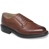 Cheaney - Deal Derby Shoes - Mahogany Grain Leather