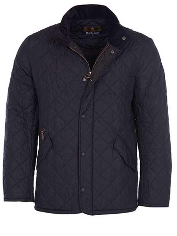 Barbour Chelsea Sports Quilt Jacket Black