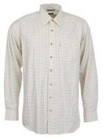 barbour-field-tattershall-comfort-fit-shirt-green-brown