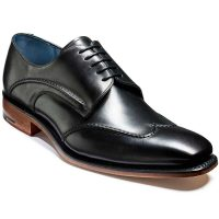 Barker Shoes - Brooke Wingtip Derby - Black Calf