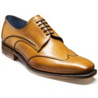 Barker Shoes - Brooke Wingtip Derby - Cedar Calf