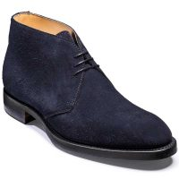 Barker Shoes - Orkney Chukka boot - Dark Navy Suede
