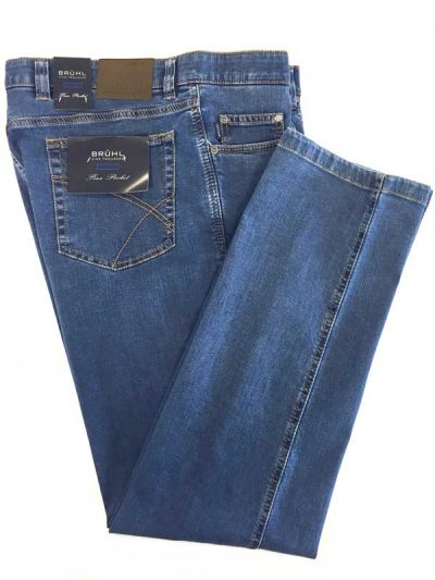 Bruhl - Genua B - Denim Jeans - Blue