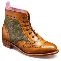 barker-grace-cedar-calf-green-harris-tweed