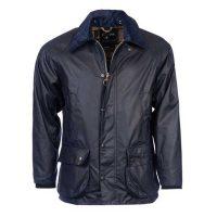 barbour-bedale-wax-jacket-navy