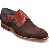 Barker Cohen Suede Derby Shoe