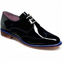 Barker Ladies Shoes – Charlie – Navy Patent