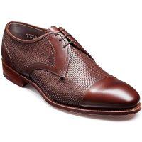 Barker Shoes - Hartford - Two Tone Weave Derby Shoe
