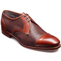 Barker Shoes - Hartford - Two Tone Weave Derby Shoe
